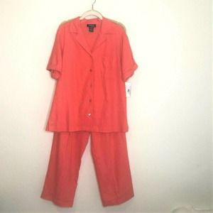 Jordan Blue Label Casual Pantsuit Linen Blend